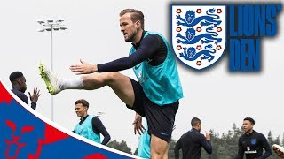 England's First Training Session in Russia LIVE | Lions' Den Episode Two | World Cup 2018