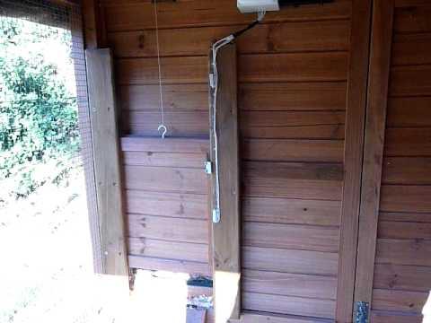 & Chuxaway Automatic Chicken Hen House Pop Door Opener - YouTube
