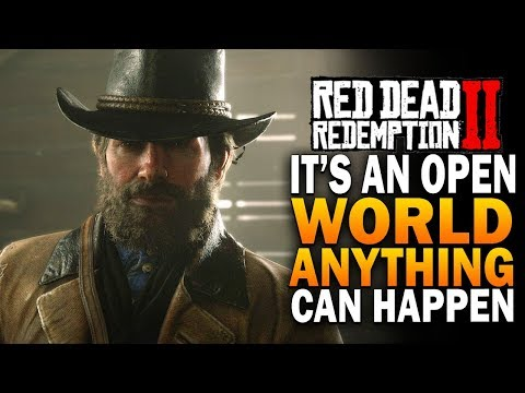 Red Dead Redemption 2 Honorable Livestream - It's An Open World, Anything Can Happen thumbnail
