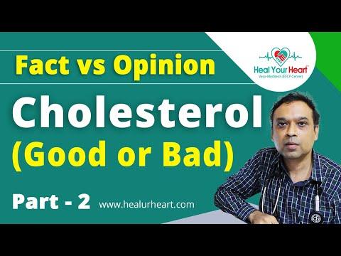 cholesterol good or bad fact vs opinion part 2