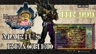 『MH3U | MH3G』[G-Rank★★★] Dire Miralis (Freestyle/Four Player) - Marius Reached High Rank 999!