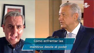 ¿Cómo enfrentar las mentiras cuando vienen directamente desde el poder?, se cuestiona Luis Cárdenas en su columna En La Mira de El Gran Diario de México