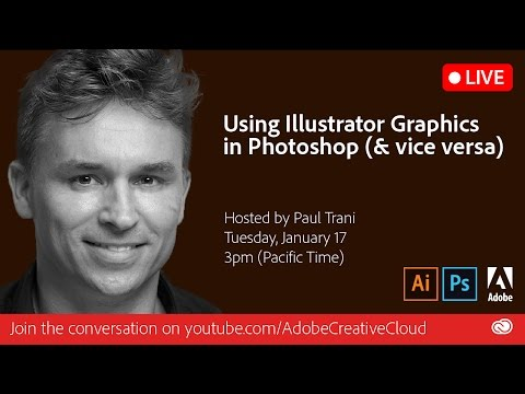 Using Illustrator Graphics in Photoshop | Adobe Creative Cloud