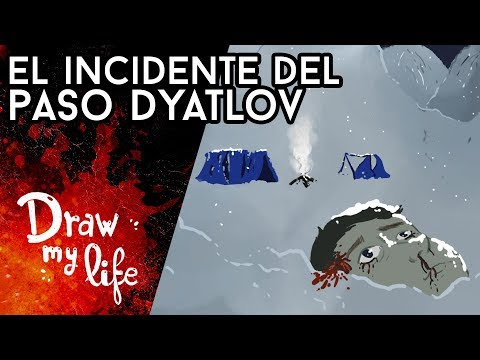 El ENIGMÁTICO INCIDENTE del Paso DIATLOV - Draw My Life en Español