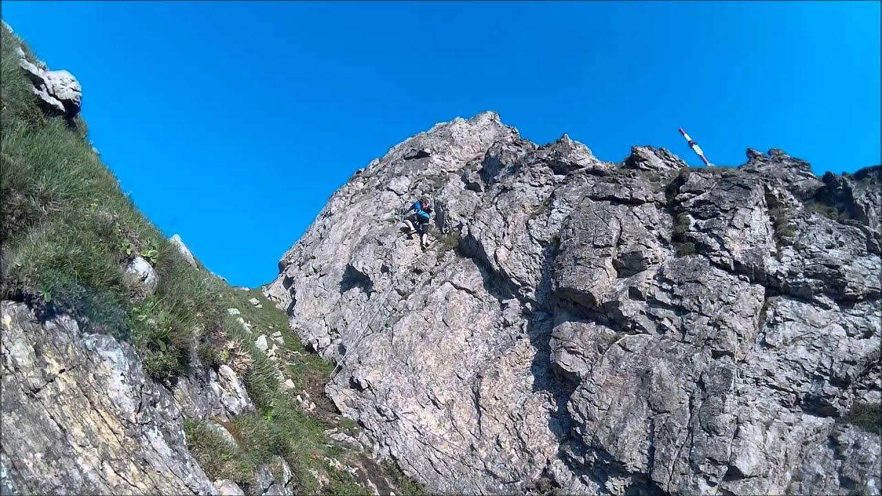 Klettersteig Johann Topo : Klettersteig kitzbüheler horn youtube