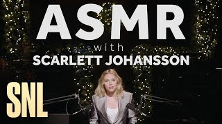 ASMR with SNL Host Scarlett Johansson