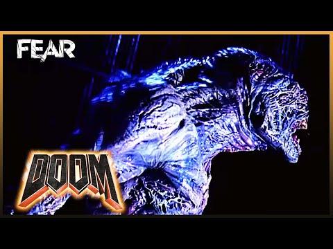 Destroyer vs Hell Knight - Fight Scene | Doom (2005)