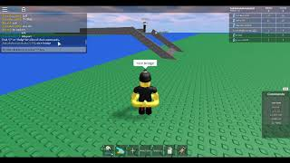 I DESTROY THAT GUYS BRIDGE ON ULTIMATE BUILD ON ROBLOX