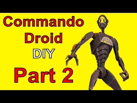 HOW TO MAKE A Star Wars Commando Droid (Part 2-Torso)