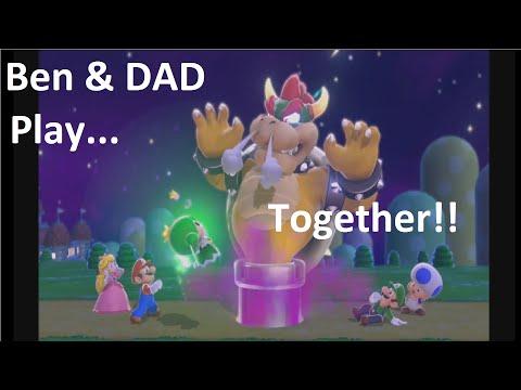 Ben0dict Gaming Super Mario 3D World Episode 4, World 1