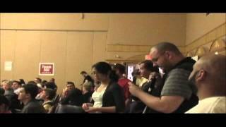 MLA Dr  Raj Sherman speaking at the Alberta Liberal Leadership Debate in Edmonton Alberta Part 3