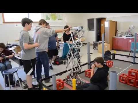 Titan Robotics Club preps for national competition