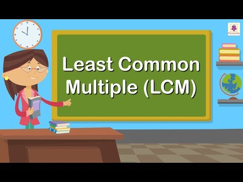 Finding The Least Common Multiple LCM | Maths For Kids | Grade 4 Maths | Periwinkle