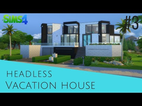 The Sims 4 Speed Build #3 Vacation house