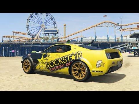 GTA V - Dominator   Rockstar Energy Texture 1 0