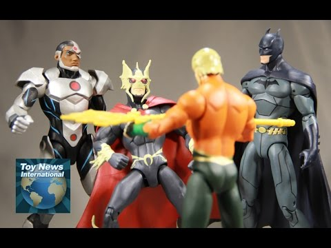 DC Collectibles Justice League Throne Of Atlantis Figures Review