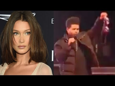 The Weeknd CAUGHT Holding Another Woman's BRA! Bella Hadid Gives Him DEATH STARE! Mp3