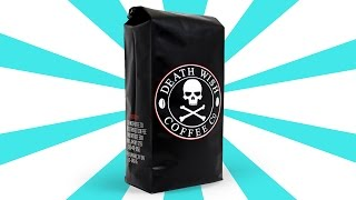 WORLD'S STRONGEST COFFEE!!! (Deathwish Coffee Review)