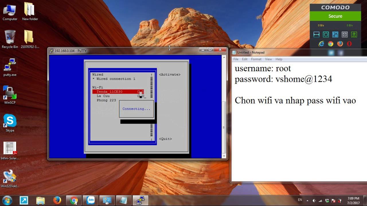 OrangePi Zero Wifi Configure