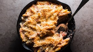 Baked Penne recipe video by SAM THE COOKING GUY