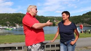 Camp-Inge snakker med Anne Louise Tveitan på Risør Resort