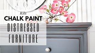 Distressed Furniture ~ Chalk Paint Tutorial ~ Annie Sloan Wax ~ Dresser Makeover