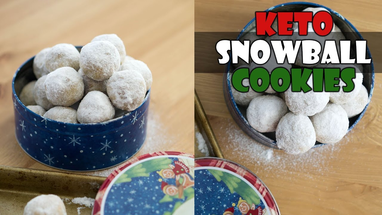 Keto Snowball Cookies Mexican Wedding Cookies Russian Tea Cakes
