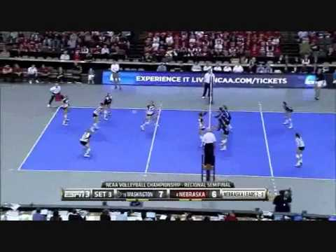 Nebraska vs Washington 2012 [Set 3 part 1]