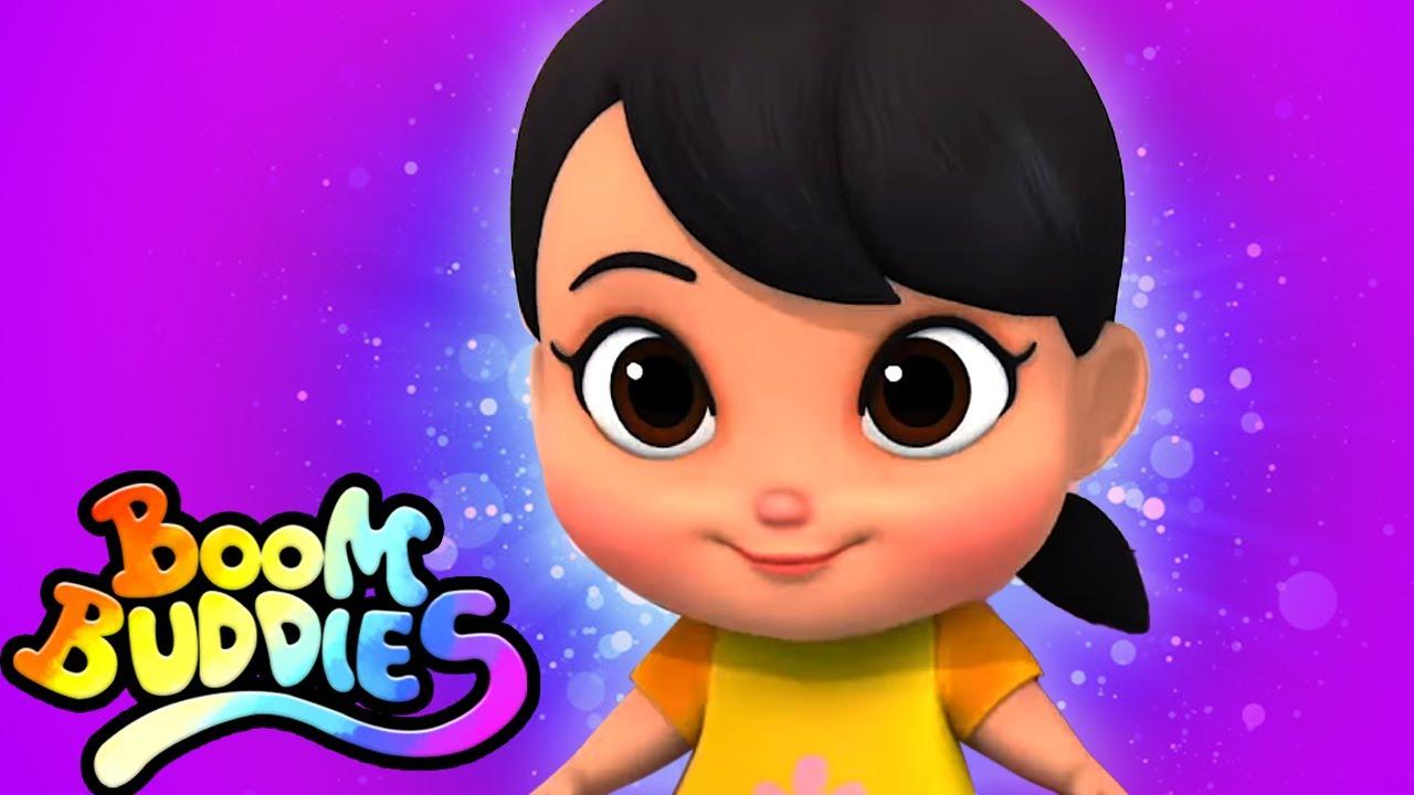 Beş küçük bebek   Eğitim karikatürler   Çocuklar için şiirler   Boom Buddies Türkçe   Okul öncesi
