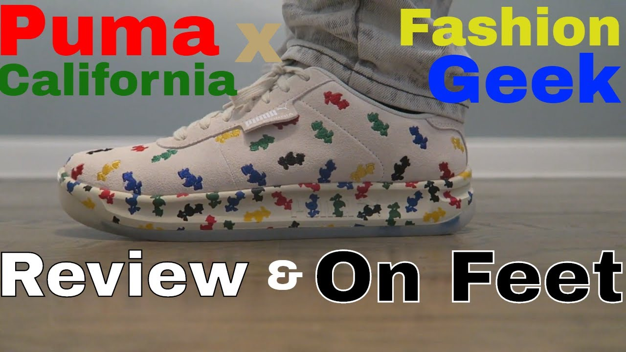 PUMA CALIFORNIA x FASHION GEEK - YouTube