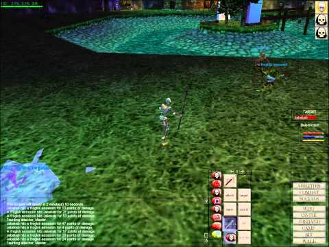 Everquest EQClassic Necromancer gameplay