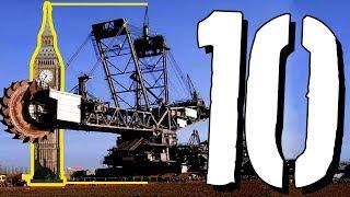 10 NAJPOTĘŻNIEJSZYCH maszyn świata [TOPOWA DYCHA]