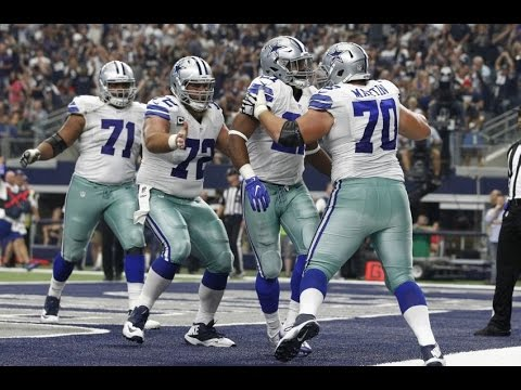 Film Session on Dallas Cowboys Offensive Line:  Byron Bell & Chaz Green