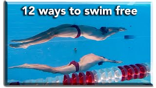 12 ways to swim freestyle. +Cool Giveaway at the end! Types of freestylers