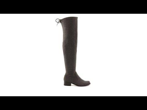 f46e0e04ac0e2 Charles by Charles David Gunter Over the Knee Boot - YouTube