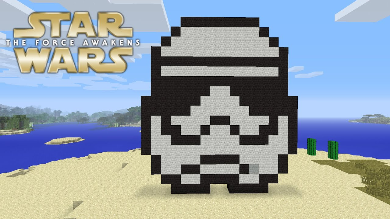 how to build a stormtrooper in minecraft