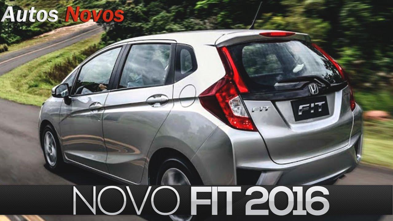 Novo Honda Fit 2016