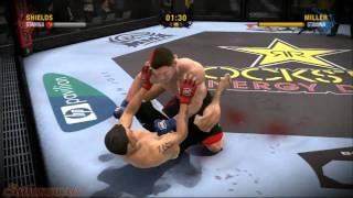EA Sport MMA Playstation 3 Surra Feia na dificuldade - Medio