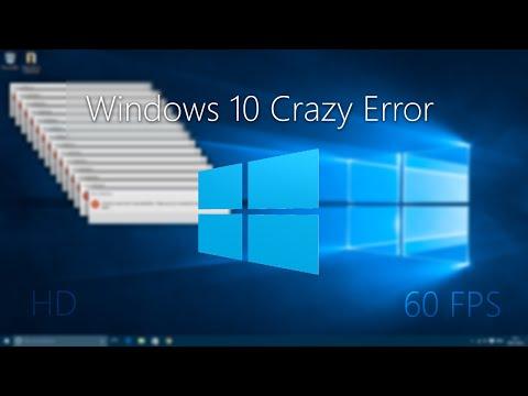 [HD 60FPS] Windows 10 Crazy Error!
