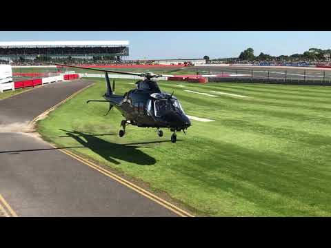 AW109 Taxi and Departure