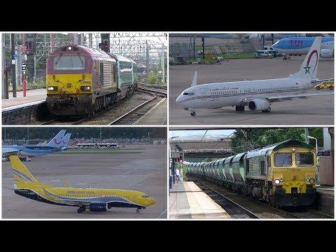 Planes&Trains around Cheshire - 5th August 2017