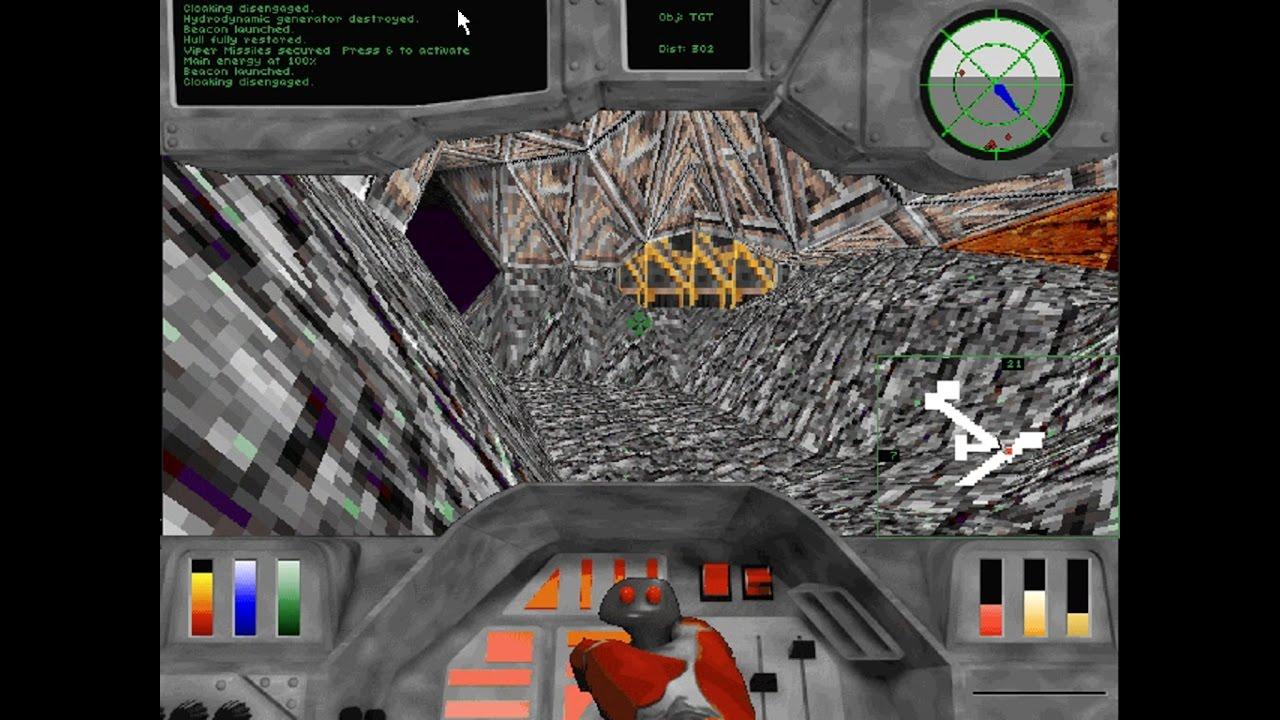 Microsoft Hellbender trial (Windows game 1996)