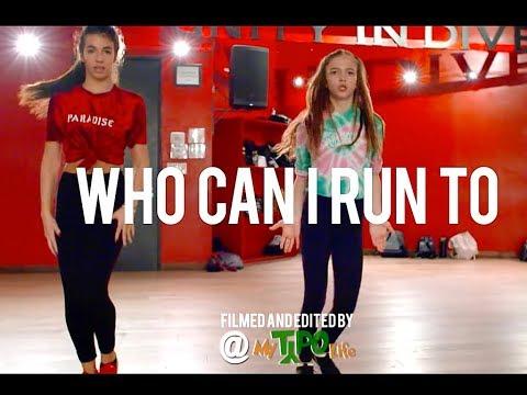 "Xscape - ""Who Can I Run To"" - JR Taylor Choreography"