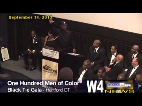 W4 News  The 100 Men of Color - Keynote 9/14/2013