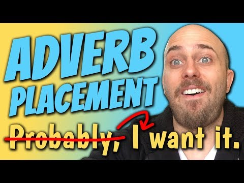 1 x Tip for ADVERB PLACEMENT in ENGLISH