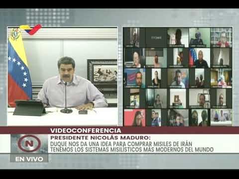Maduro responde a Iván Duque: Venezuela estudiará la posibilidad de comprar misiles a Irán