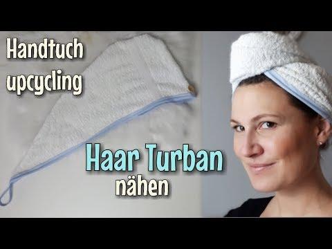 Haar Turban - Nähanleitung OHNE Schnittmuster - Für Anfänger ...