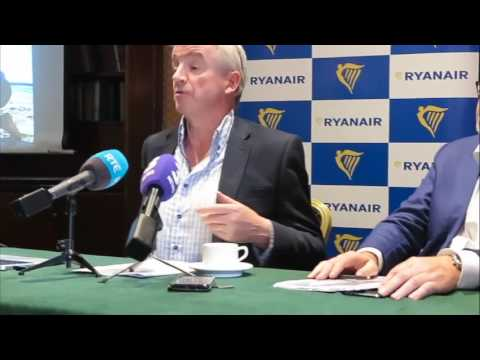 Michael O'Leary Gulf carriers will run out of money