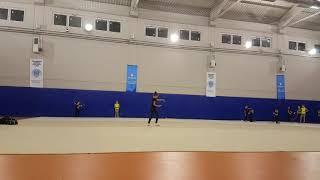 Jimnastik antremanım Türkiye şampiyonası hazırlık Cimnastik antreman