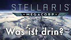 Stellaris Megacorp: Die DLC-Features (incl. Lootboxen! + Fazit) & Rabattcode